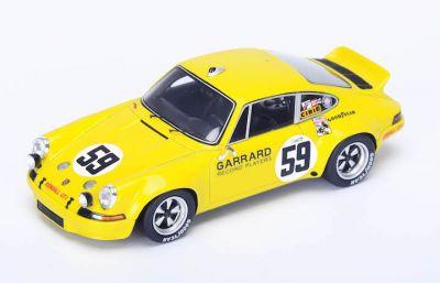 "Spark Model 43SE73 Porsche Carrera 911 RSR #59 'Peter Gregg - Hurley Haywood - Dave Helmick"" winner Sebring 1973"