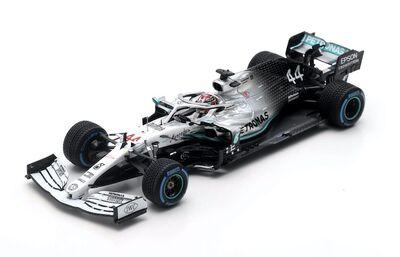Spark Model S6092 Mercedes-AMG Petronas Motorsport #44 'Lewis Hamilton' 9th pl German GP 2019