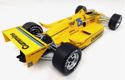 Replicarz R18034 March 86C #25 Cummins Diesel 'Al Unser Sr.' Winner Indy 500 1987