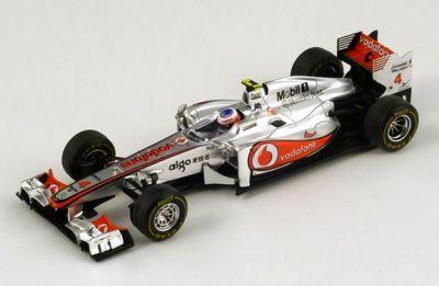Spark Model S3029 McLaren MP4-26 #4 'Jenson Button' 200th GP & winner Grand Prix of Hungary 2011