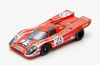 Spark Model 18LM70 Porsche 917 K #23 'Hans Herrmann - Richard Attwood' 1st pl Le Mans 1970