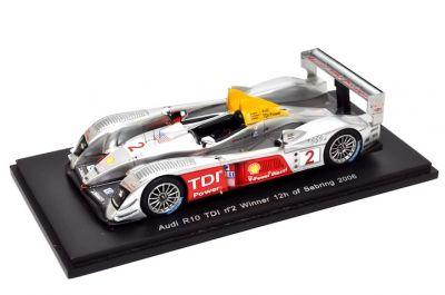 Spark Model S0678 Audi R10 TDI #2 'Rinaldo Capello - Tom Kristensen - Allan McNish' winner 12 hrs of Sebring 2006