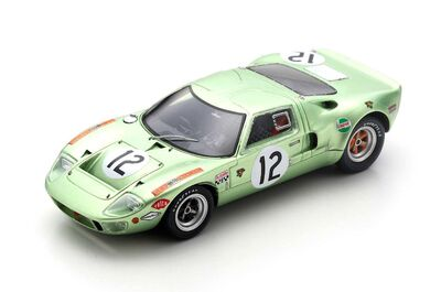 Spark Model S4539 Ford GT40 #12 'Mike Salmon - Eric Liddell' Le Mans 1968