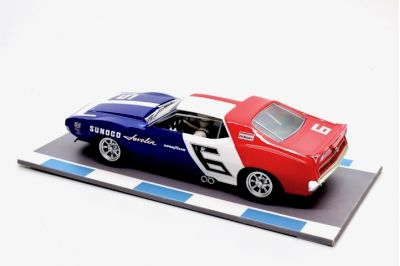 Scalextric C3731 AMC Javelin #6 'Mark Donohue' 1st pl Watkins Glen 1971 SCCA Trans-Am Champion