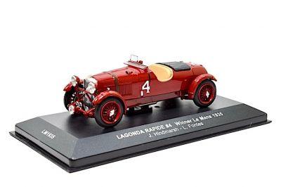 IXO Models LM1935 Lagonda Rapide #4 'Johnny Hindmarsh - Luis Fontes' winner Le Mans 1935