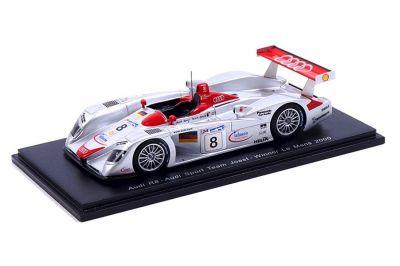 Spark Model 43LM00 Audi R8 Joest #8 'Frank Biela - Tom Kristensen - Emanuele Pirro' winner Le Mans 2000