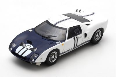 Spark Model S4079 Ford GT #11 'Richie Ginther - Masten Gregory' Le Mans 1964