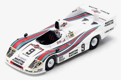 Spark Model S5499 Porsche 908/80 Martini #9 'Jacky Ickx - Reinhold Joest' 2nd pl Le Mans 1980