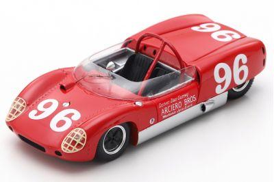Spark Model 43DA62 Lotus Climax 19B #96 'Dan Gurney' 1st pl Daytona 3-Hour Continental 1962
