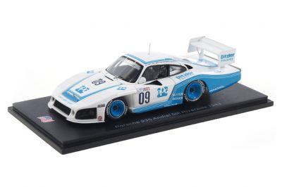 Spark Model US090 Porsche 935 #09 'Mario Andretti - A.J. Foyt - Bill Whittington' 6hrs of Riverside 1983