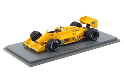 Spark Model S7131 Lotus 99T #12 'Ayrton Senna' Winner Monaco Grand Prix 1987