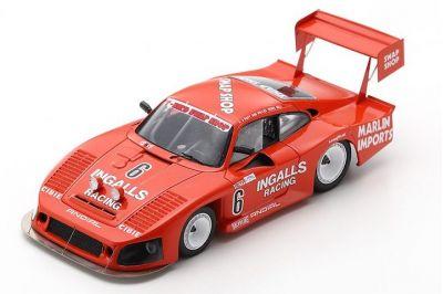 Spark Model US091 Porsche 935 #6 T-Bird Swap Shop / Ingalis Racing 'Bob Wollek - A. J. Foyt - Derek Bell' 3rd pl 12 hrs of Sebring 1984