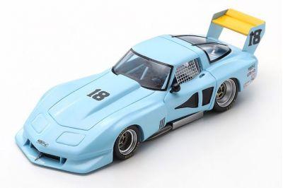 Spark Model US048 Chevrolet Corvette C3 #18 'John Paul' 5th pl Road Atlanta 100 Miles 1978