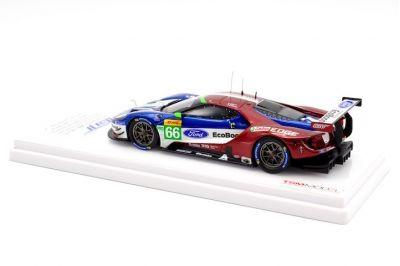 TSM Model TSM430406 Ford GT LMGTE #66 'Ford Chip Ganassi Team UK 'Stefan Mücke - Olivier Pla - Billy Johnson' Winner LMGTE Pro cl. WEC 6 Hr of Spa 2018