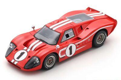 Spark Model 43LM67 Ford Mk IV #1 'Dan Gurney - A. J. Foyt' Winner Le Mans 1967