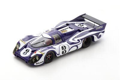 Spark Model S1096 Porsche 917 LH #3 'Gérard Larrousse - Willi Kauhsen' Practice Le Mans 1970
