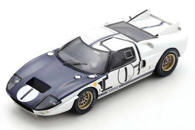 Spark Model S4532 Ford GT40 MK2 #1 'Ken Miles - Bruce McLaren' Le Mans 1965