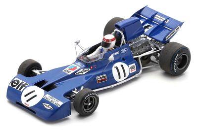 Spark Model S7232 Tyrrell 003 #11 'Jackie Stewart' Winner French GP & F1 World Champion 1971