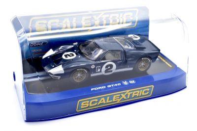 Scalextric C3066 Ford GT40 Mk II #2 'Dan Gurney - Jerry Grant' 12 hrs of Sebring 1966