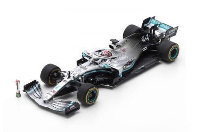Spark Model S6071 Mercedes-AMG Petronas W10 #44 'Lewis Hamilton' Winner Grand Prix of China 2019Spark Model S6071 Mercedes-AMG Petronas W10 #44 'Lewis Hamilton' Winner Grand Prix of China 2019