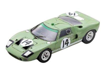 Spark Model S4534 Ford GT40 #14 'John Whitmore - Innes Ireland' Le Mans 1965