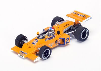 """Spark Model 43IN76 McLaren M16C #2 Hy-Gain Special """"Johnny Rutherford"""" Winner Indy 500 1976"""