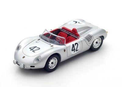 Spark Model 43SE60 Porsche 718 RS60 #42 'Hans Herrmann - Olivier Gendebien' winner 12hrs of Sebring 1960