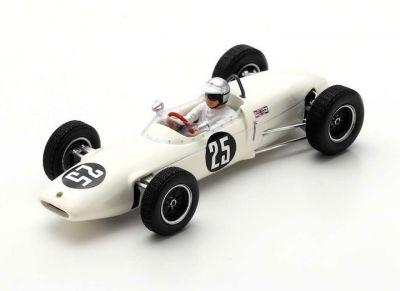 Spark Model S7139 Lotus 21 #25 'Jim Hall' 4th pl Mexican Grand Prix 1962