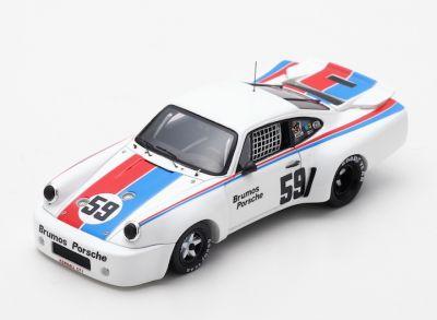 Spark Model US047 Porsche 911 Carrera RSR #59 'Peter Gregg' Mid-Ohio 100 Miles 1975