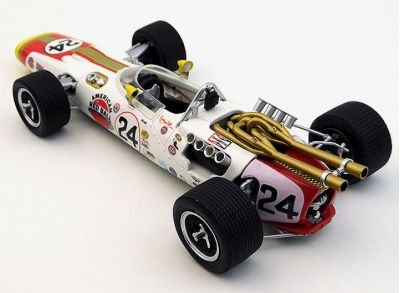 Replicarz R18025 Lola T90 Red Ball Special #24 'Graham Hill' winner Indy 500 1966