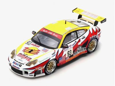 Spark Model S5527 Porsche 911 996 GT3 RS #93 Alex Job Racing 'Emmanuel Collard - Lucas Luhr - Sascha Maassen' Winner LM GT cl. Le Mans 2003