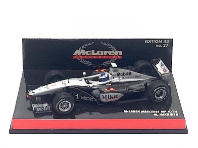 Minichamps 530994301 McLaren Mercedes MP4/14 #1 'Mika Hakkinen' 1999 F1 World Champion
