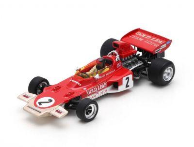 Spark Model S7125 Lotus 72D Gold Leaf #2 'Emerson Fittipaldi' 2nd pl Austrian Grand Prix 1971