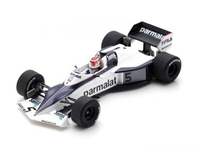 Spark Model S7110 Brabham BT52 #5 'Nelson Piquet' 2nd pl Monaco GP & F1 World Champion 1983