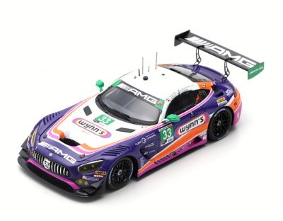 Spark Model US077 Mercedes-AMG GT3 #33 Mercedes-AMG Team Riley Motorsports 'Keating - Bleekemolen - Stolz - Fraga' 24hrs of Daytona 2019