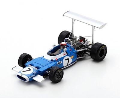 Spark Model S7186 Matra MS80 #7 'Jackie Stewart' Winner Race of Champions 1969