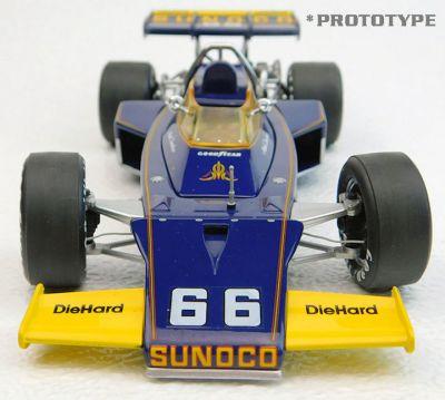 Replicarz R184827 McLaren M16B #66 'Mark Donohue' winner Indy 500 1972